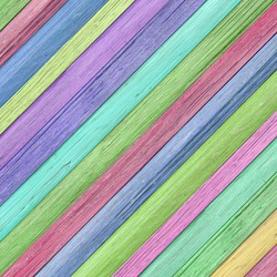 Colorful wood wall slant texture abstract background