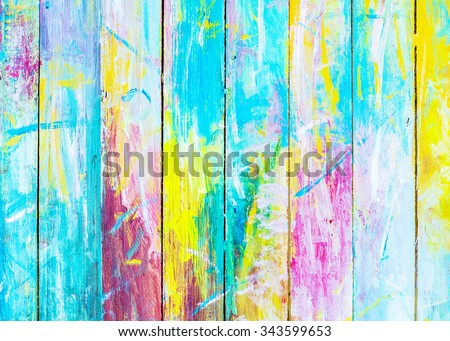 colorful  wooden painted background, Christmas background