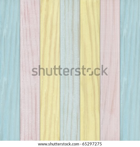 Colorful wooden wall as background