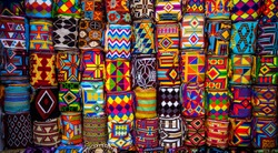 colorfull Colombian mochilas