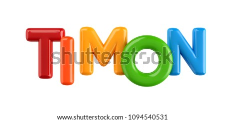 Happy Birthday - 3D metal text on white background Images