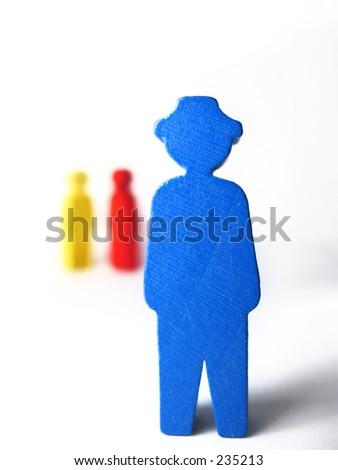 Colorfull figurines