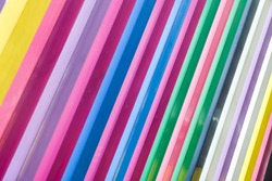 Colorfull lines striped decoration or wallpaper