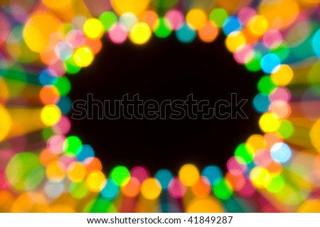 Colorfull ornament background with copyspace