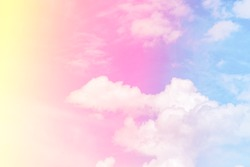 Colorfull sky abstract background