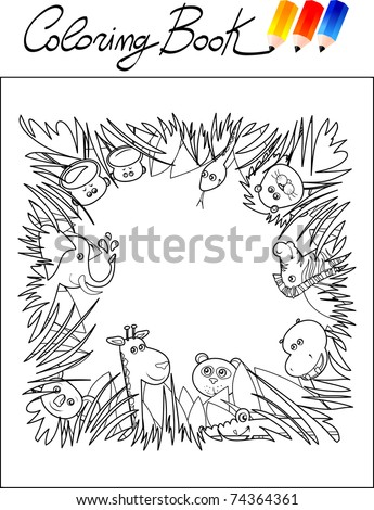 jungle animal pictures for kids. children, jungle animals.