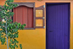 Colors in Isla Mujeres of Quintana Roo