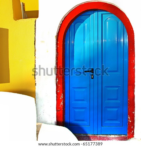 colors of Greece series - traditional doors