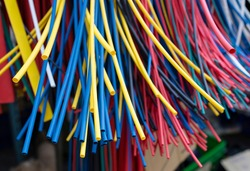 Colors of Heat-shrink tube in the market