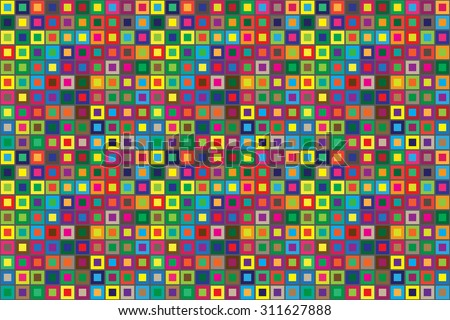 colors squares seamless abstract pattern horizontal background