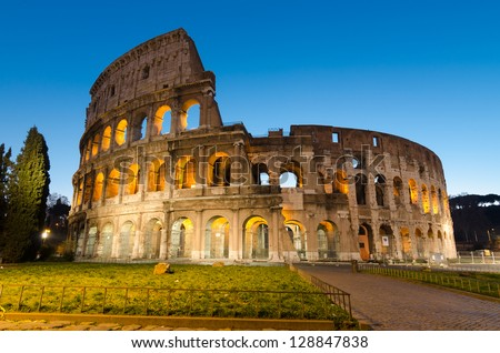 Colosseo - Colosseum - Rome - Italy