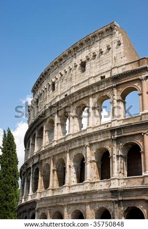 Colosseom ruin