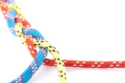 coloufull rope braid