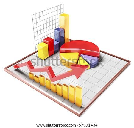 Colour 3d Bar Graph