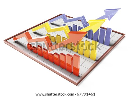 Colour 3d Bar Graph