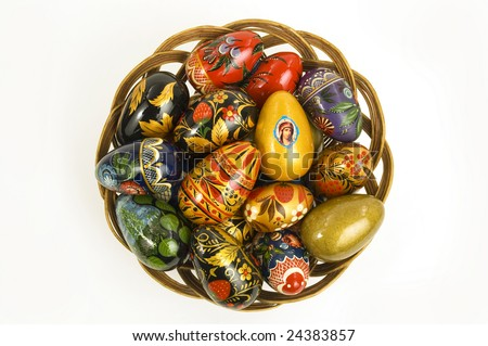 images of easter eggs to colour. stock photo : Colour easter
