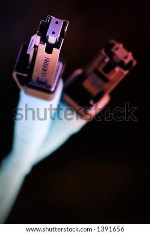 Colour internet cable
