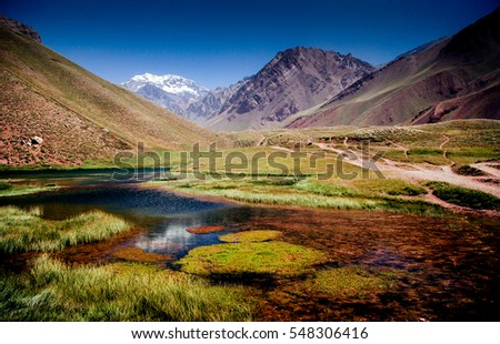 Shutterstock Colour Valley or Aconcagua