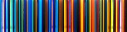 Coloured Cast Acrylic Sheet arranged