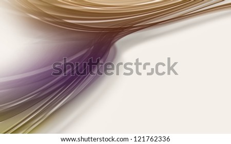 colourful abstract lines on white background