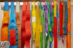 Colourful Cargo Lifting Harness Safety Equipment Working Load