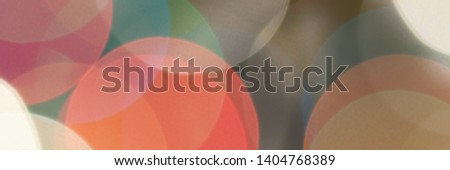 Colourful festive multi-colored circles . Defocused abstract multicolored bokeh lights background. #1404768389