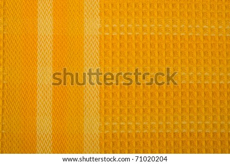 Colourful honeycomb textile background