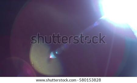 Colourful Light Leak #580153828
