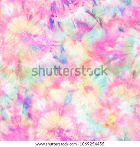 Colourful Tie Dye Print