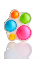 Colplay Pop it, Fidget Toys, Push Pop Bubble Fidget Sensory Toy Autism Special Needs Silicone Stress Relief Toy