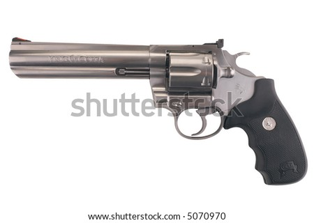 Colt Magnum - isolated on white
