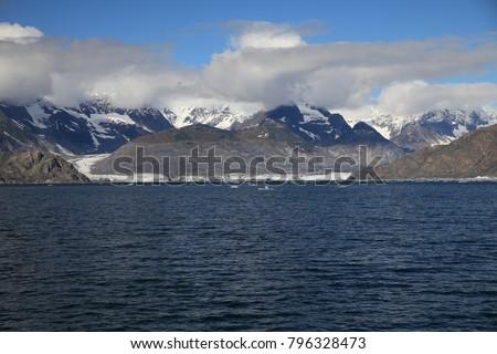 Columbia Glacier, Columbia Bay, Valdez, Alaska #796328473
