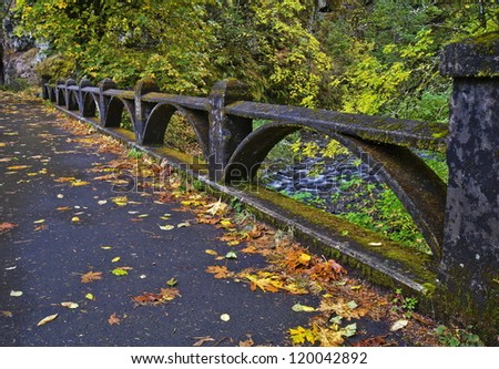 Columbia river gorge creek