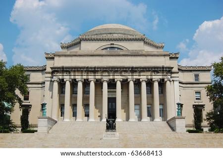 Columbia University Library in New York City