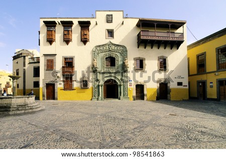 Columbus House(Casa de Colon), Las Palmas, Canary Islands, Spain