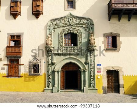 Columbus House(Casa de Colon), Las Palmas, Canary Islands, Spain