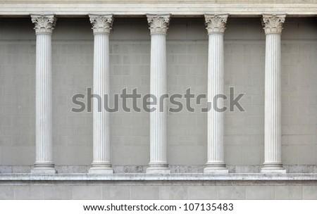 column, row background