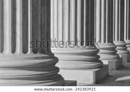 Columns at the Supreme Court of the United States #242383921