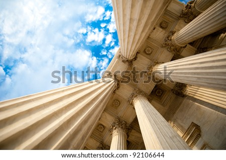 Columns at the U.S Supreme Court