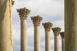 Columns from the original capitol building at the National Arboretum, Washington D.C.
