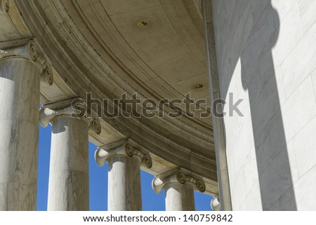 Columns of Jefferson Memorial