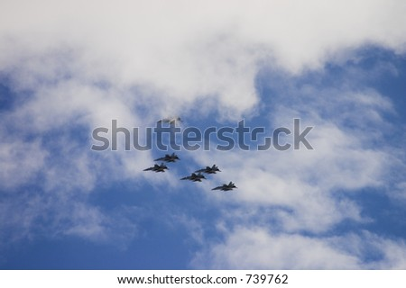 Combat planes background