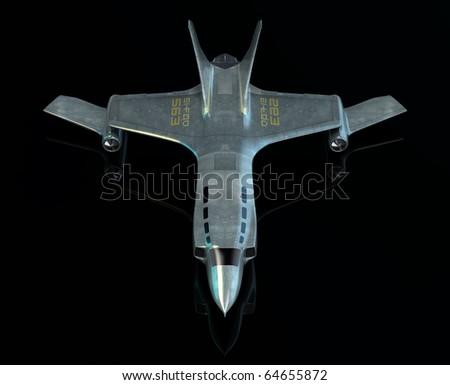 Combat spaceship. My own design