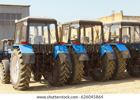 Combines and tractors, agricultural machinery, agricultural machinery maintenance and export