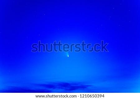 Comet C/2011 L4 Panstarrs  in March 2013.