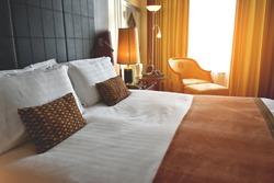 Comfort bedroom in luxury style