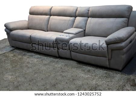 Comfortable interior sofa #1243025752