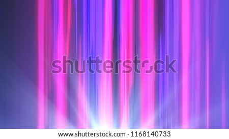Stock Photo Comic colored speed line action inspired by japanese Anime 3d illustration