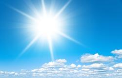 Coming Storm Shining Sunlight