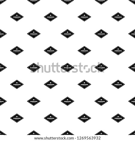 Commando troop pattern seamless repeat geometric for any web design